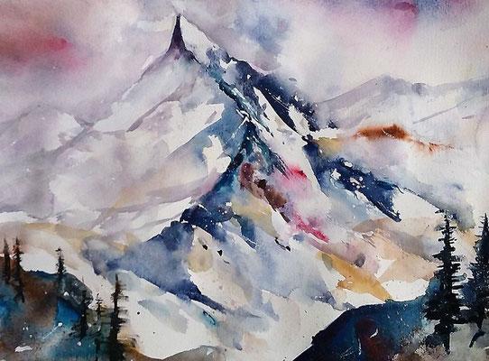Mountains cape Switzerland