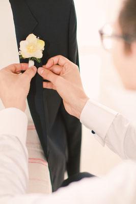 Hochzeitsfotografie; Bräutigamstyling