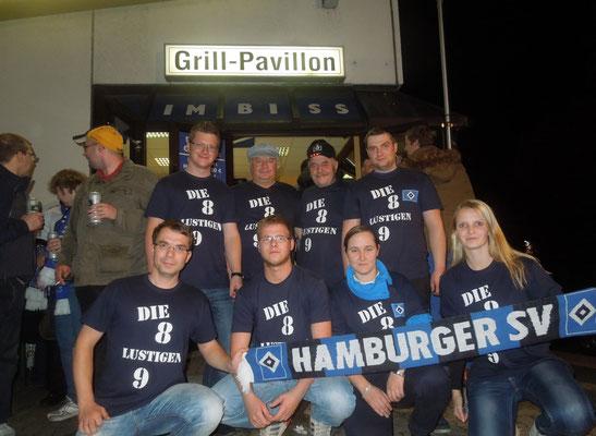HSV : Leverkusen 1 : 0 01.11.2014 im Grillpavillon