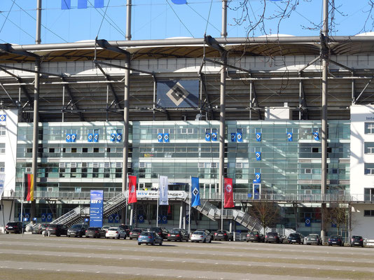 HSV #zeigtflagge HSV:Frankfurt 08.03.2013