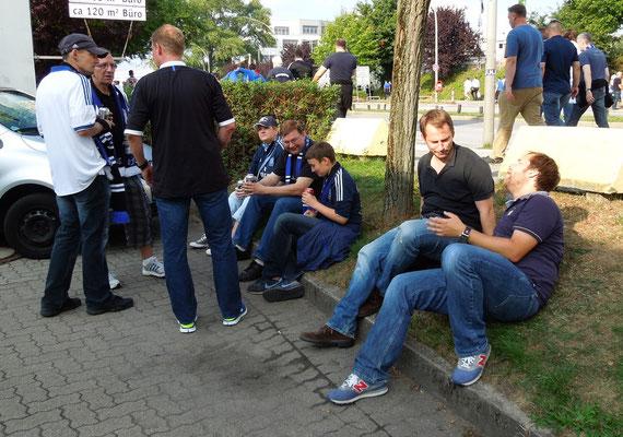 Saisonstart HSV : Hoffenheim 17.08.2013 Grillpavillon Hamburg