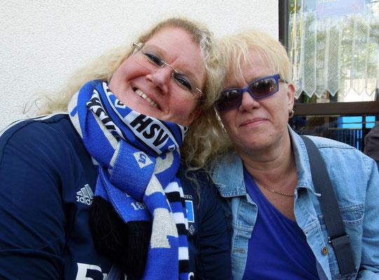 HSV : Schalke 2:0 23.05.2015 beim Pommeskönig
