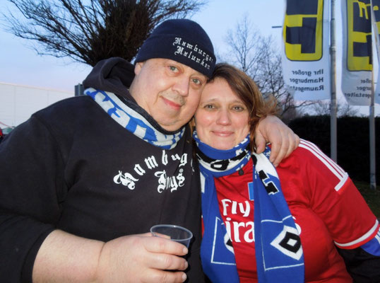 HSV : Dortmund 0:0 07.03.2015 Grillpavillon Hamburg