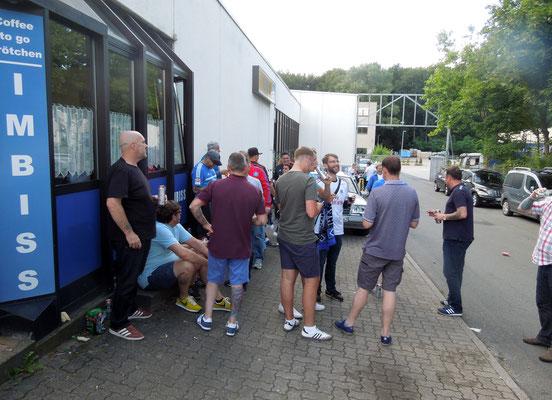 Volksparkfest 2016 HSV : Stoke City Grill-Pavillon Hamburg