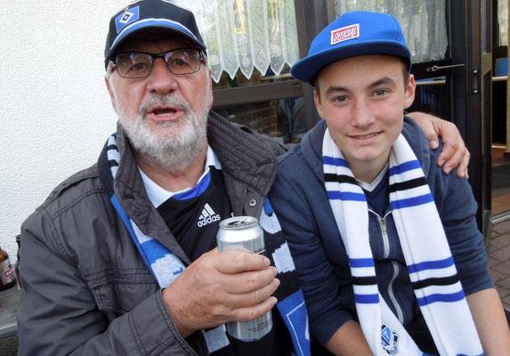 HSV : Schalke 2:0 23.05.2015 Grillpavillon Hamburg, Schnackenburgallee 119, 22525 Hamburg