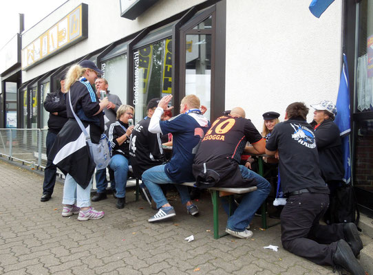 Saisonauftakt 30.08.2014 HSV : Paderborn 0:3