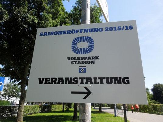 Volksparkfest am 01.08.2015