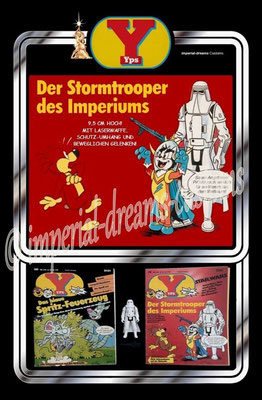 CU99-EP4 YPS-Stormtrooper des Imperiums BACK