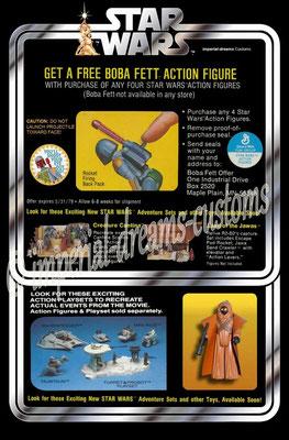 CU86-EP4 Kit-bashed Boba Fett Prototype BACK