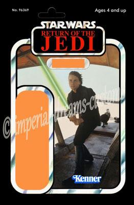 CU102-EP6 Luke Skywalker (Jedi Knight Outfit) Skiff