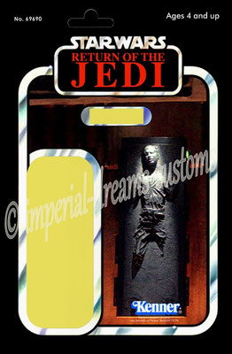 CU45-EP6 Han Solo (in Carbonite) V2