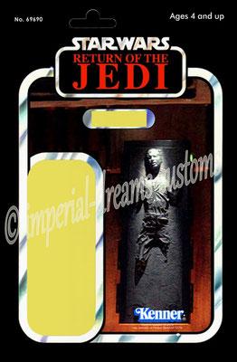 CU45-EP6 Han Solo (in Carbonite) V2