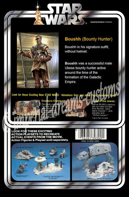 CU09-EX Boushh (Bounty Hunter) BACK