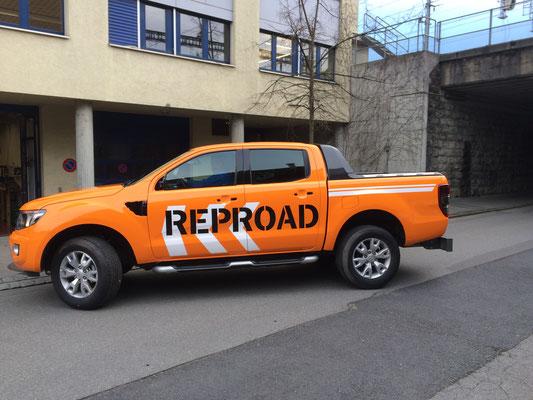 Vollverklebung Ford Ranger