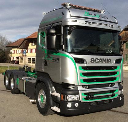 Scania Truck Foliendekor