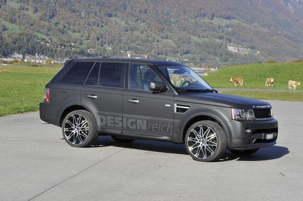 Vollverklebung Range Rover Sport