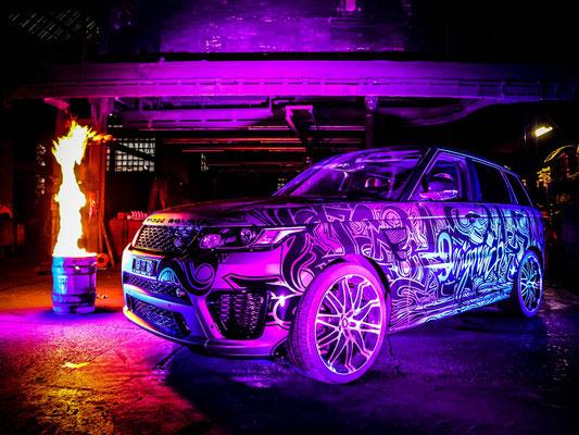 Folierung Range Rover SVR