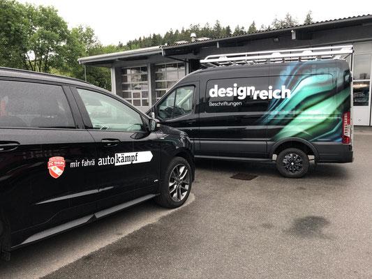 FC Thun Werbung bei Auto Kämpf Heimberg