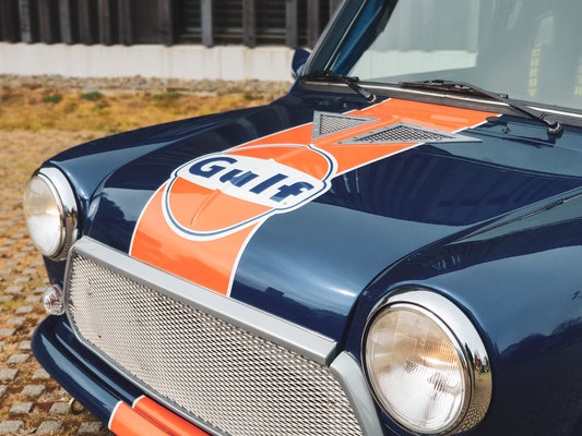 Fahrzeugbeschriftung MINI Cooper