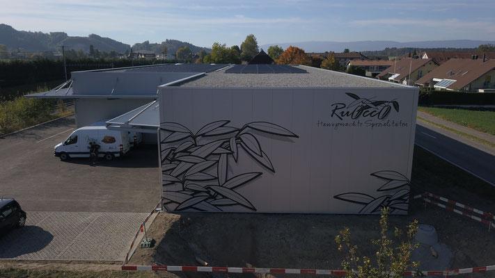 Fassadenbeschriftung Ruocco in Schüpfen