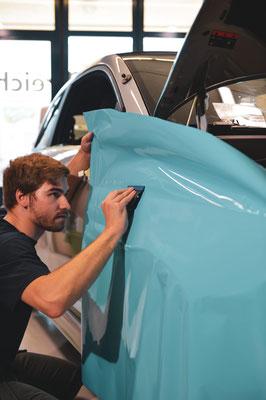 Carwrap Fiat Racecar
