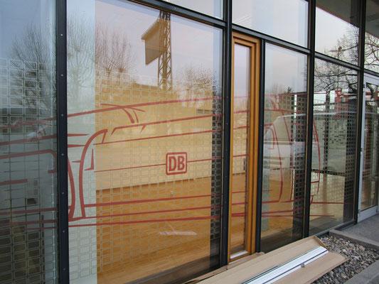 Sichtschutzfolien Deutsche Bahn in Muttenz