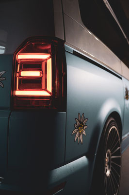 Carwrapping VW Camper
