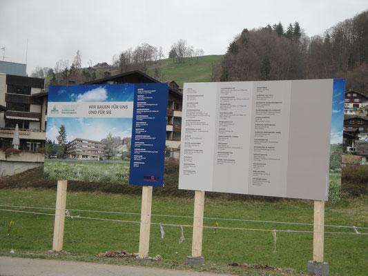 Baureklame Altersheim Reichenbach