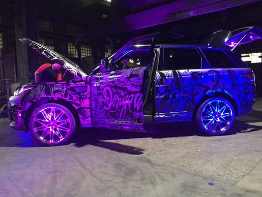 Carwrap Range Rover SVR