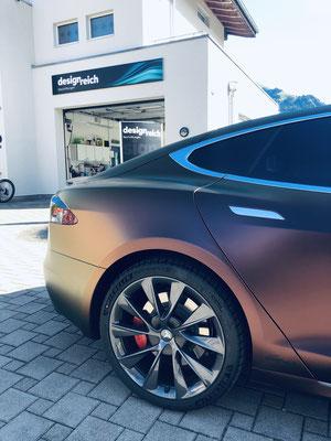 Carwrap Tesla