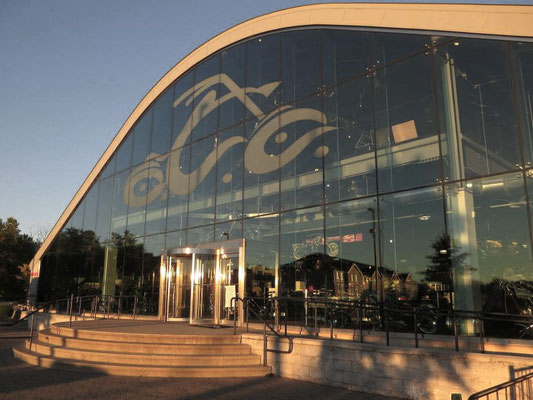 Hauptzentrale von Orange County Choppers in Newburgh New York