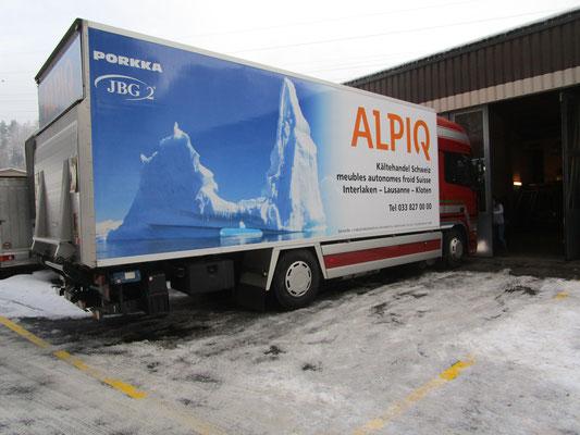LKW Werbung Alpiq