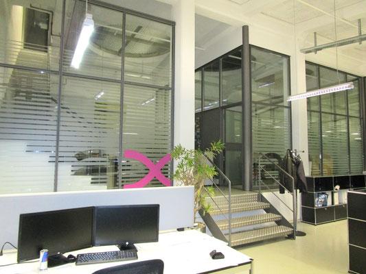 Sichtschutzfolien bei der Firma Axians in Ittigen bei Bern