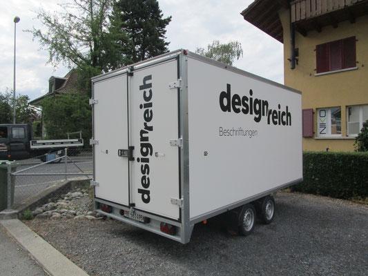 Anhängerbeschriftung Designreich