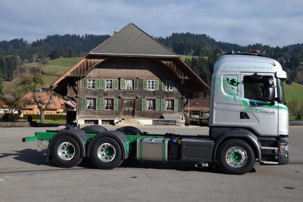 Foliendesign Scania Schaller Trans