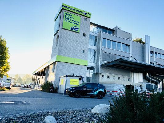 Fassadenwerbung Standort Uetendorf