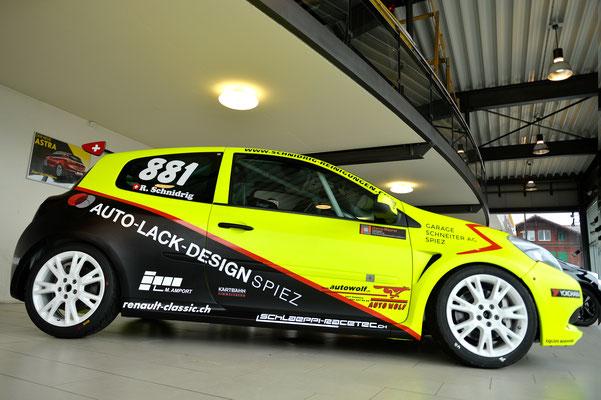 Foliendekor Renault Clio