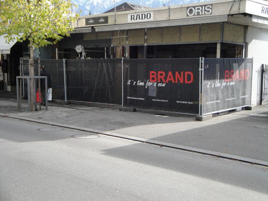 Gitternetz für Baustellengitter