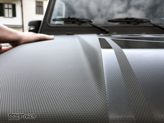 Folierung Mercedes G-Klasse mit 3M Matrix Black