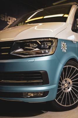 Carwrap VW Bus