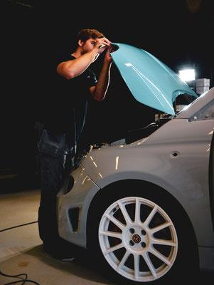 Carwrapping Fiat 500 Abarth