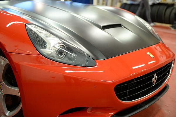 Folierung Ferrari