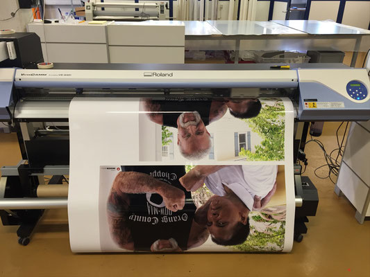 Digitaldruck der Vorlage