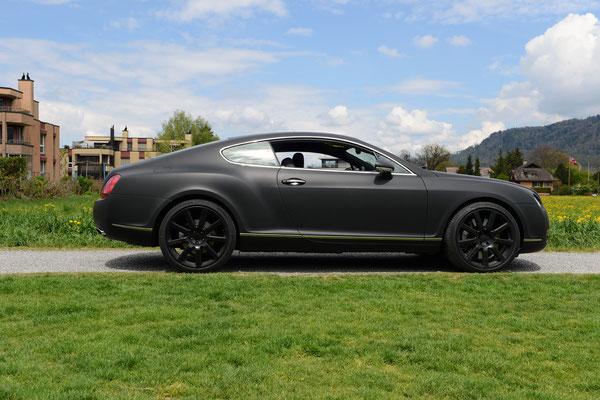 Folierung Bentley