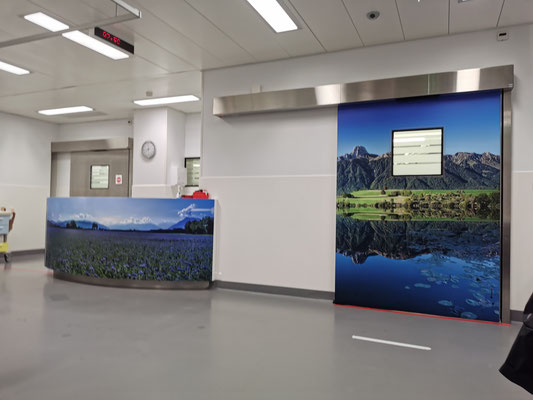 Fotoprint OP Raum Spital Thun