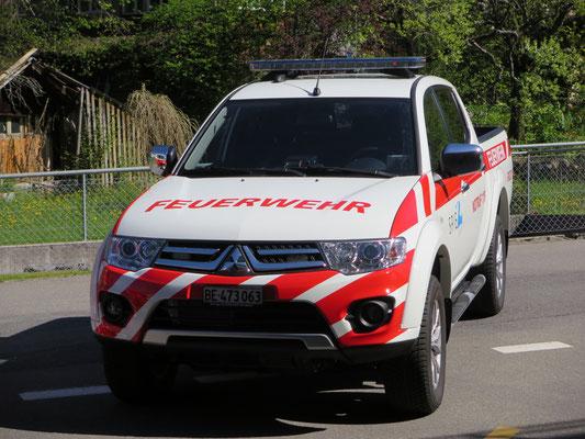 Foliendekor Mitsubishi Feuerwehr Spiez