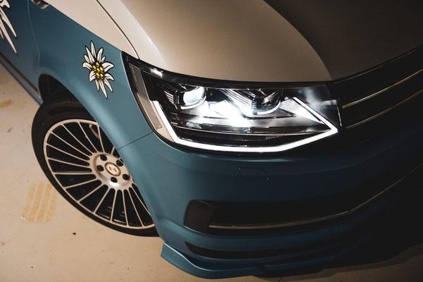 Foliendekor VW California