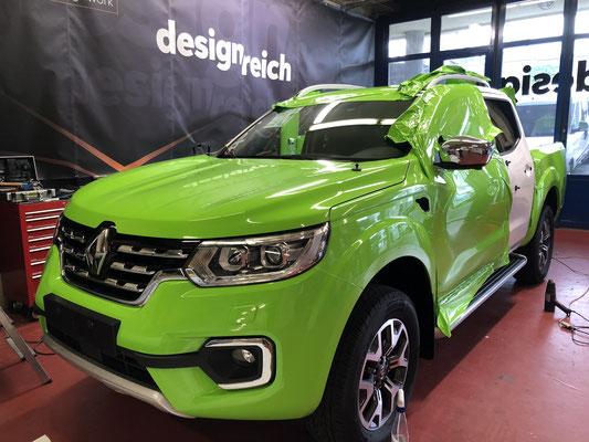 Folierung Renault Alaskan