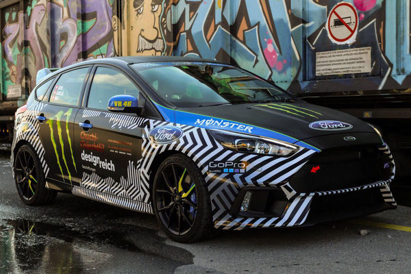 Foliendekor Ford Focus RS