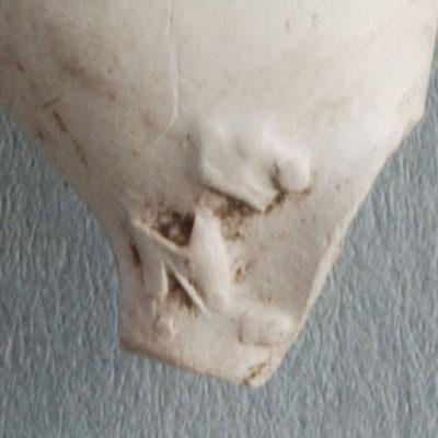 nr 10-1111 Gevonden in Gouda, muiltje op zijkant linkerhiel